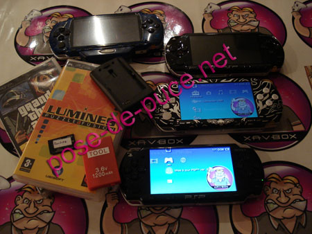 how to put custom firmware on psp